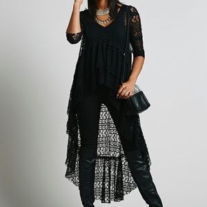 Free People X Emperor Lace Maxi Overlay